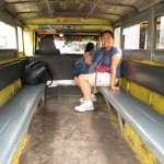 Waiting for the jeepney to get going in Baguio