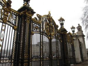 Green Park gate