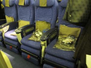 World Travel Plus class seats